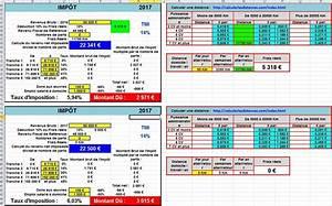 Calcul Des Frais Reel Impot : comment calculer son imp t sur le revenu avec excel ~ Premium-room.com Idées de Décoration