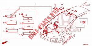 Wire Harness  4   Rh  For Honda Cars Civic Type R 5 Doors 6 Speed Manual 2015   Honda Cars