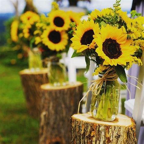 Dekorieren Mit Sonnenblumen by Sonnenblumen Deko Ideen Sonjas Hochzeit Sonnenblumen