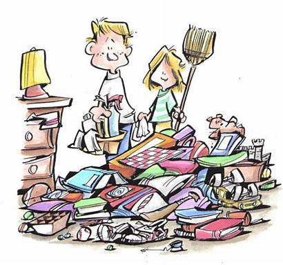 Messy Clipart Cliparts Clip Clean Library Cleaning