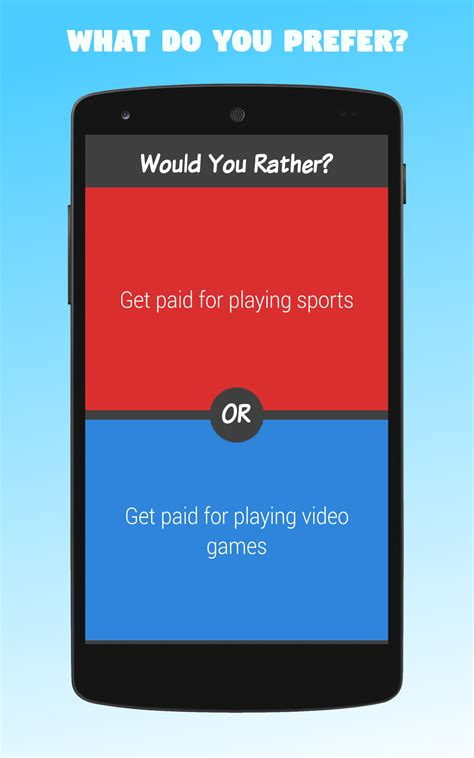 Amazoncom Would You Rather? Appstore For Android