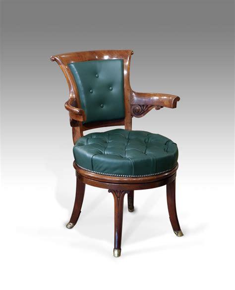 antique office chair antique captains chair swivel chair