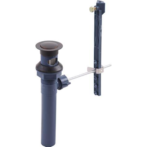 delta faucet rpob universal oil rubbed bronze sink
