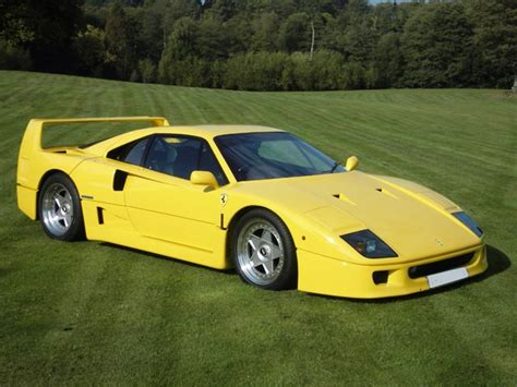 Yellow F40 by Yellow Rhd F40 Classic News