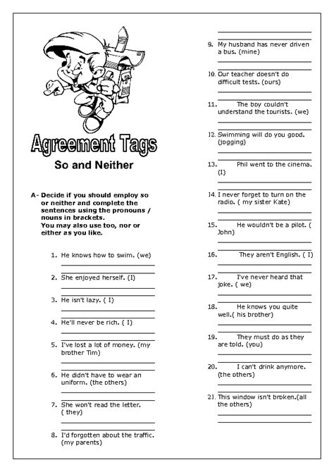 agreement tags