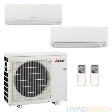 mitsubishi heat pump split msz mini zone dual system btu seer u1 ac mxz gl09na btus ductless air gl24na conditioner