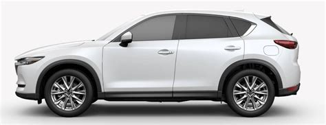 mazda cx  snowflake white pearl mica side viewo