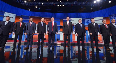 debate republican gop presidential politico stage trump politics re