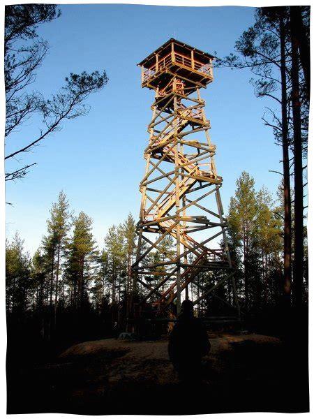 Ūdrkalna skatu tornis pie Usmas ezera - Skolēnu ekskursijas