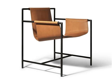 Tanned Leather Chair Ming's Heart By Poltrona Frau Design