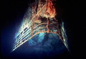real titanic ship underwater | obsessed | Pinterest | Real ...