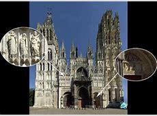 Photo Haute Définition Façade de la Cathédrale de Rouen