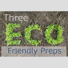 Eco Friendly Preps  Ready Nutrition