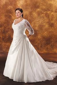 plus size sleeved wedding dress plus size wedding gowns with sleeves enter your name here