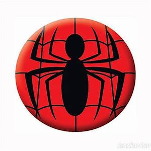 Web clipart spiderman logo - Pencil and in color web ...