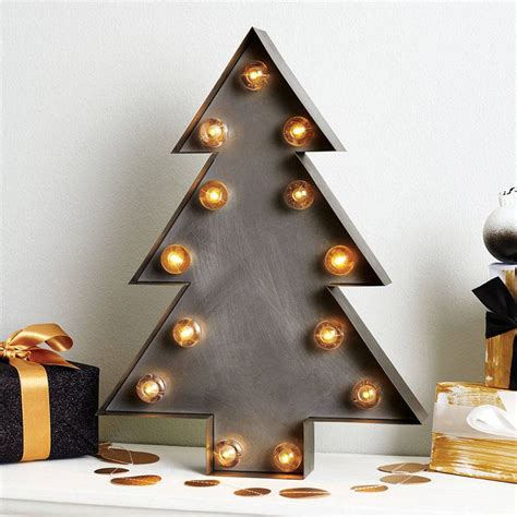 christmas tree marquee light christmas marque led low