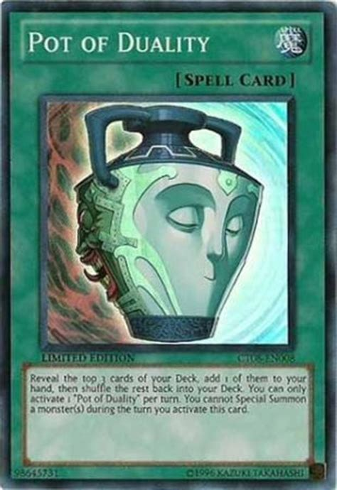 We did not find results for: Pot of Duality - CT08-EN008 - Super Rare - Yu-Gi-Oh! Promo Cards - Yugioh