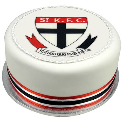 afl football team birthday cake edible image