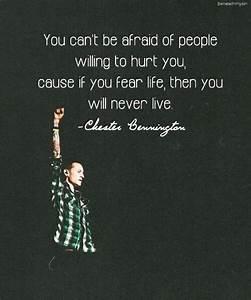 CHESTER BENNING... Linkin Park Short Quotes