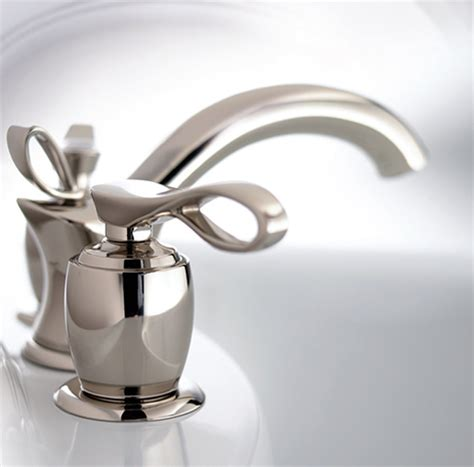 designer faucets bathroom phylrich bathroom faucet new amphora luxury faucets with ribbon handle design