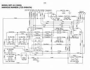 Troy Bilt 13an17tg77 Riding Mower Wiring Diagram