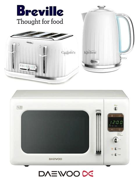 toaster kettle sets breville impressions white kettle and toaster set daewoo