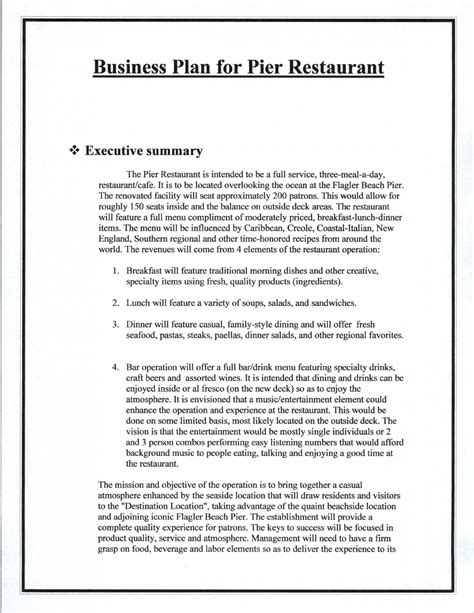 daycare business plan template  day care business plan