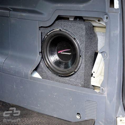 basser mercedes viano fit box subwoofer enclosure