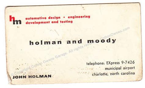 cotton owens garage scrapbook  vintage business cards