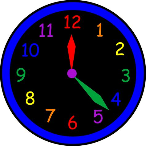 Clipart Time by Tell The Time Clipart 27