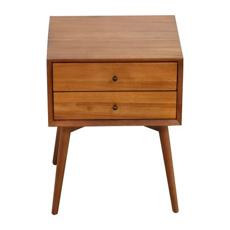 mid century nightstand 49 west elm west elm mid century nightstand tables