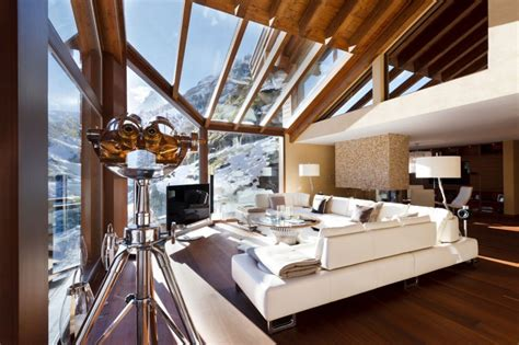 World Of Architecture 5 Star Luxury Mountain Home With An