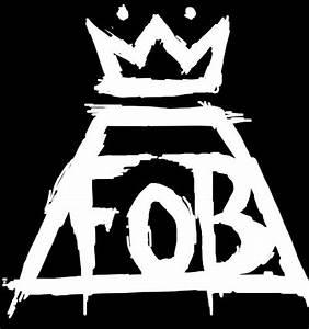 FOB Logo | Fall Out Boy FOB | DIY | Pinterest | Logos, The ...