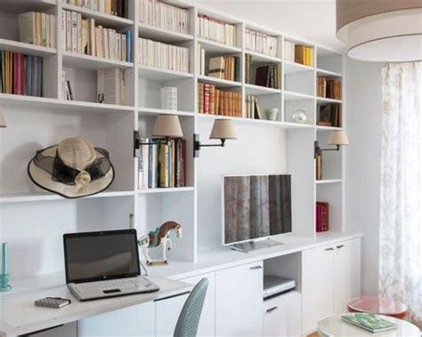 meuble de bureau sur mesure bureau avec un bureau intégré meuble tv sur mesure