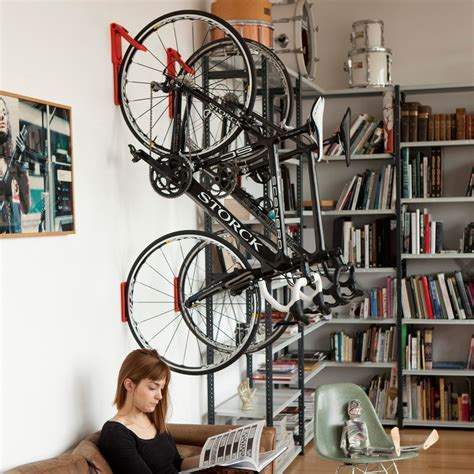Cycloc Endo   Vertical Fold Flat Bicycle Storage   The