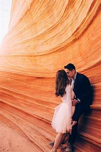 Beautifully Epic Engagement Session at The Wave Arizona