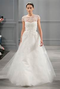 monique lhuillier illusion size 0 wedding dress oncewedcom With monique lhuillier wedding dress cost