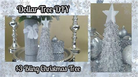 dollar tree diy blingy christmas tree  easy home decor