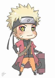Naruto Chibi, Sennin Mode by omerfarooq on DeviantArt