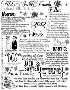 family letter christmas pinterest With family christmas letter