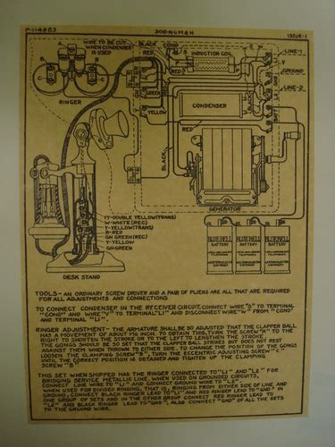wooden magneto box and candlestick wiring diagram glue on