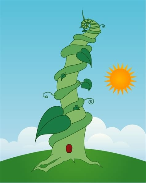 beanstalk clip art  vector  open office drawing svg