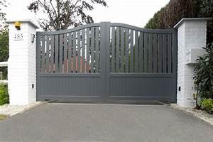 Portail En Aluminium : portail alu soud longchamp europortail ~ Melissatoandfro.com Idées de Décoration