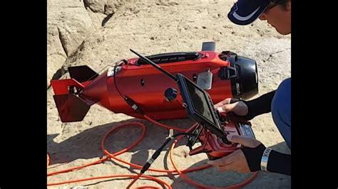 ttrobotix underwater drone gopro seawolf ocean master submarine rov maiden voyage   sea