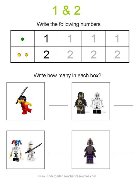 Math is a pretty popular topic for teachers. Ninjago Number Worksheets