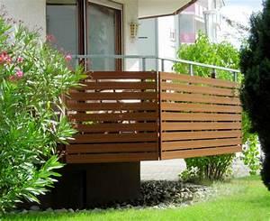 Balkonverkleidung Aus Holz : hochwertige baustoffe balkonverkleidung bretter holz ~ Lizthompson.info Haus und Dekorationen