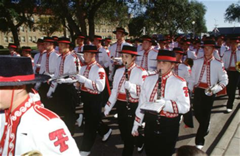 goin band  raiderland history traditions ttu