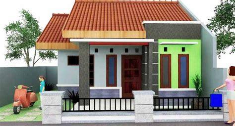 rumah idaman sederhana  desa desain rumah minimalis