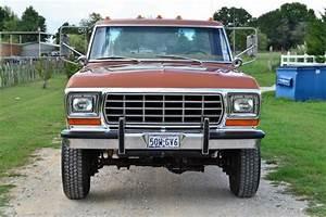1976 Ford F250 Highboy Ranger Xlt  Diesel  4wd Surivor