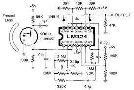 image result  pir sensor circuit diagram  lm